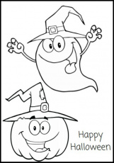 Free Printable Halloween Coloring Pages and Activity Sheets - About a Mom
