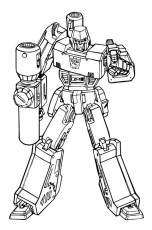 Megatron - Transformers coloring page | Transformers coloring pages,  Monster coloring pages, Transformers drawing