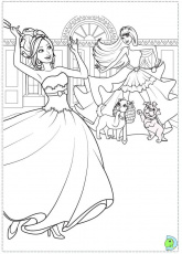 barbie and popstar Colouring Pages (page 2)