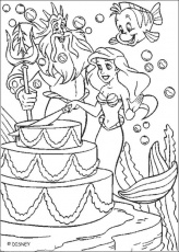 happy birthday cake cartoon