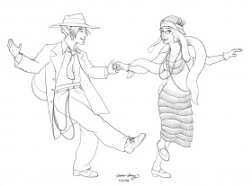 Irish Step Dance Coloring Pages Dance Coloring Sheets Free Jazz Jazz Coloring Pages