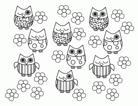 Owl Cute Sweetheart Owl Coloring Page Kiddos Origami Owl Jewelry ...
