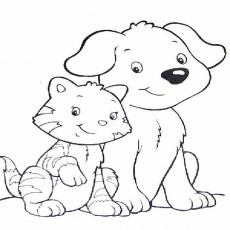 Cats Coloring Pages Free Coloring Pages Coloring Cat Coloring Dog ...