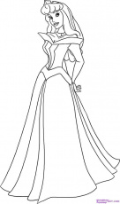Princess Aurora Coloring Page | Inspirations | Pinterest ...