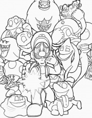 luigi's mansion ghost coloring pages | Mario coloring pages, Super mario coloring  pages, Coloring pages