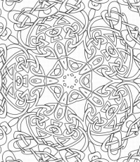 Abstract coloring pages printable adult coloring pages special ...