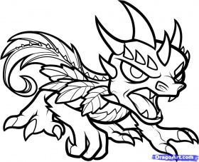 Dragon City Coloring Pages at GetDrawings | Free download