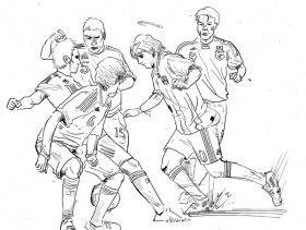 17 Pics of Messi Playing Soccer Coloring Pages - Soccer Player ...