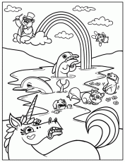 New Coloring Page: Free Printable Rainbow Coloring Pages For Kids ...