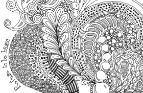 15 Pics of Zentangle Birds Coloring Pages Printable - Zentangle ...