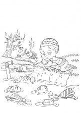 Coloring page water pollution - img 22000.