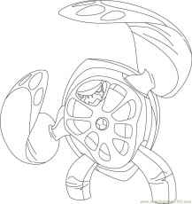 How To Draw XLR8, Step By Step, Ben 10 Characters ... Ben 10 Xlr8 Coloring Pages