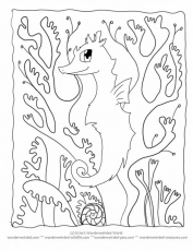 Seaweed Coloring Pages - Free Printable Coloring Pages | Free
