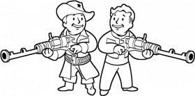 Fallout 4 Colouring Pages Fallout Coloring Books Pages - Fallout 4 Line Art  | Full Size PNG Download | SeekPNG