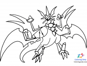 Ash Greninja Coloring Page - Free Printable Coloring Pages for Kids