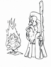 Moses And The Exodus Coloring Pages 6954 Passover Coloring Pages