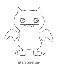 coloring pages of ugly dolls | Ugly Dolls Coloring Page - Coloring Home