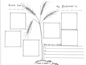 Related Coloring Pages Ruth And Boaz