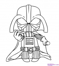 Darth Vader Coloring S Darth Vader Coloring Pages To Print In ...