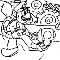 Luigis mansion 2 coloring pages