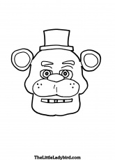 Coloring Pages : Free Five Nights At Freddys Tipa Pis Org ...