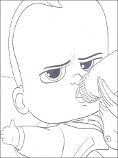 Boss Baby Coloring Pages 22 | Coloring pages for kids | Pinterest ...