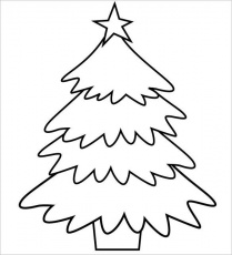 Terrific Free Printable Christmas Tree Coloring Pages - Best Craft ...