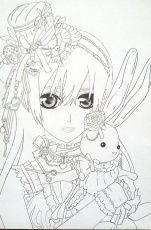 Vampire Knight Coloring Page