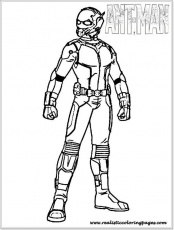 Ant Man Coloring Pages On Coloring Bookinfo Free Printable