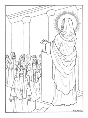 The Catholic Illustrator's Guild: Luminous Mysteries coloring book ...