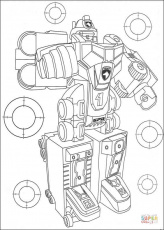 Transformer coloring page | Free ...supercoloring.com
