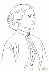 clara barton coloring page free printable coloring pages helen keller