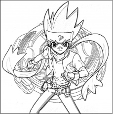 Free Printable Beyblade Coloring Pages For Kids