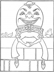 Humpty Dumpty Coloring Pages 54 | Free Printable Coloring Pages