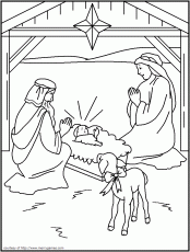 the philosophers wife 10 religious christmas coloring pages for