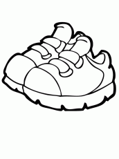 coloring pages of shoes