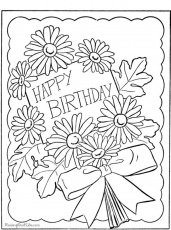 Happy-birthday-picture-to-color-330 | colouring pages or templates | …