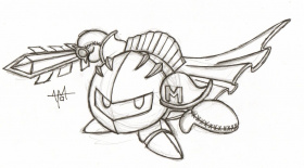 All Meta Knight Coloring Pages - Coloring Pages For All Ages