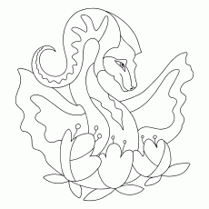 Coloring Pages with Dragons - Download, Print (A4), and Color Online