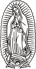 virgen de guadalupe coloring pages coloring pages kids collection