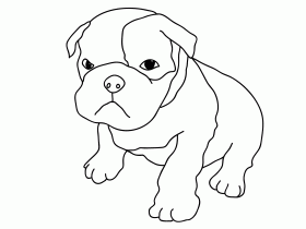 Dog Coloring Pages - Printable Free Coloring Pages
