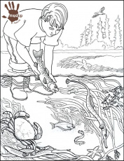 Water Pollution Coloring Sheets Coloring Pages Now Coloring Home