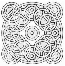 Related Patterns Coloring Pages item-13840, Free Adult Coloring ...