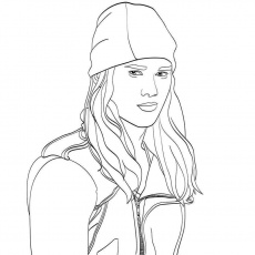 Coloring Pages : Descendants Coloring Pictures Jay From ...