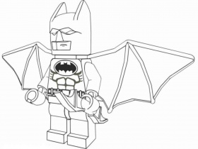 Lego Batman Coloring Pages Printable - Coloring Pages For Toddlers