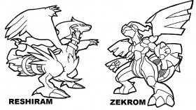 Free Legendary Pokemon Coloring Pages For