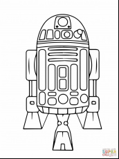 Lego Star Wars Coloring Pages R2D2 - Part 2