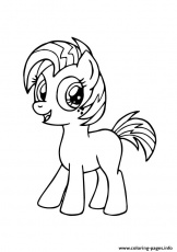 A Babs Seed My Little Pony Coloring Pages Printable