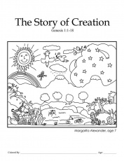 1000+ ideas about Creation Coloring Pages | Days Of ...