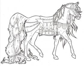 Carousel Horse Tassels by ReQuay on deviantART
